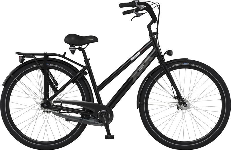 past op mijn fiets big apple