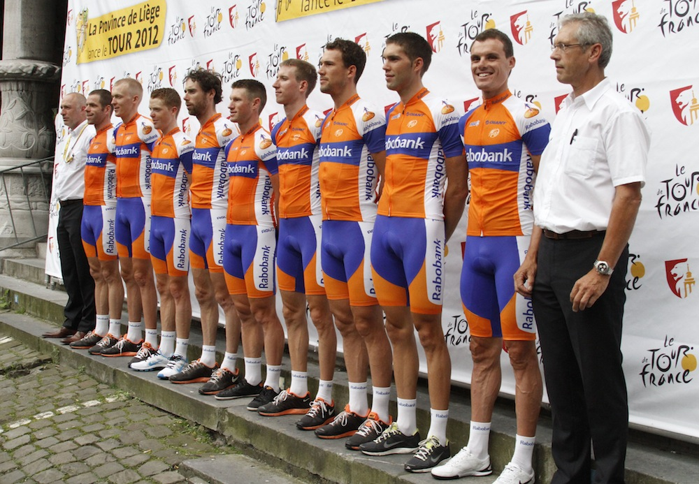 6317254d4 Blanco Pro Cycling Team is the new name next year of the former Rabobank  Team after the Dutch bank decided to end its sponsorship because of the  Lance ...